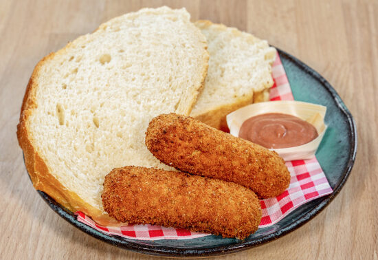 Kroketten met Brood